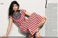 Laetitia Casta by Eric Guillemain for Vogue Brasil July 2013