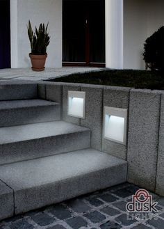 Eglo Zimba Exterior Low Level Recessed Brick Wall Light Eglo