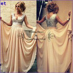 Lang Abendkleid Brautkleid Ballkleid Brautjungfer von etelement