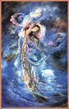 Mahmoud Farshchian: Ever-Expanding Horizon, Persia, Persian Miniature Art Print Josephine Wall, Celtic Art, Celtic Dragon, Illustration Art, Illustrations, Iranian Art, Goddess Art, Beautiful Fantasy Art, Fantasy Paintings