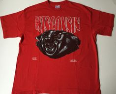 A personal favorite from my Etsy shop https://www.etsy.com/listing/292173275/wisconsin-t-shirt-wisconsin-badgers-t