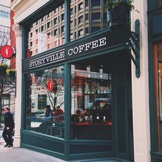 Just across the street! | Storyville Coffee Company in Seattle, WA