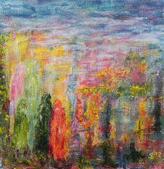 End of the Day   aan het eind van de dag - #gratefulness #love #liefde #landschappenvandeziel #painting #art #soul #journey #modernart #contemporaryart #irkastachiw #day