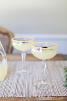 Vodka Lavender Lemonade #Cocktail