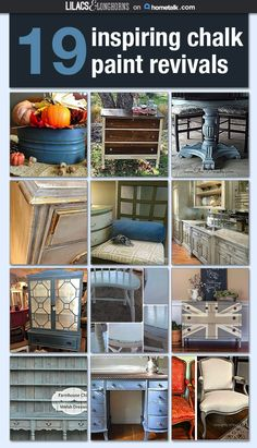 20 inspiring ways to update old furniture with chalk paint