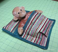 animal/doll sleeping bag