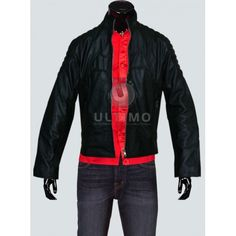 Batman Begins Movie Black Slimfit Leather Jacket  The charm of Batman is never going to be over. People don't just love the character, but the style statement created by the jacket. So, if you like to copy him, you would definitely want this Batman Begins Movie Black Slimfit Leather Jacket. You wi