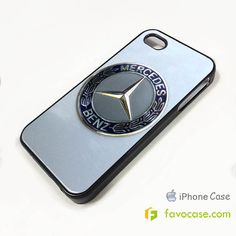 MERCEDES BENZ Car Logo iPhone 4/4S 5/5S 5C Case Cover