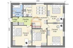 Ниже представлены планировки индивидуальных жилых домов. Это лишь эскизы планов этажей, а не проекты домов. Чтобы получить проект дома, вы можете заказать индивидуальное проектирование (в том числе, п