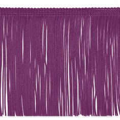 This fringe is a beautiful finishing touch on pillows, draperies, costumes and more. It features a 3/8'' header and 6'' long fringe.
