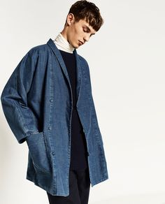 DENIM KIMONO-View all-JACKETS-MAN | ZARA United States