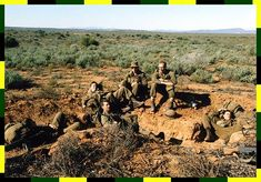 Hard, stoney ground to dig trenches in. Sa Navy, African States, Army Day, Military Academy, Defence Force, Troops, Soldiers, The Republic, Sierra Leone