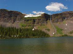 Keener Lake and Falls, Flat Tops Wilderness, Colorado Three Lakes, Colorado Rockies, Winter Snow, Wilderness, Trail, Waterfall, Hiking, River, Spaces