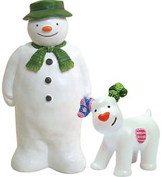 Creative Party Christmas The Snowman and Snowdog Cake Topper