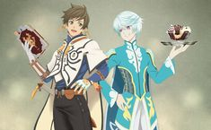 Sorey and Mikleo from Tales of Zestiria. Alawys been a big fan of Tales series , I have play them for decades. Sorey and Mikleo I Love Anime, Me Me Me Anime, American Dragon, Tales Of Berseria, Tales Of Zestiria, Tales Series, Bishounen, Kirito, Wallpaper Backgrounds