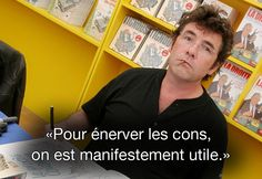 Citation de Tignous, le 4 décembre 2012 lors d'un festival à Berck-sur-Mer (Pas-de-Calais). MAXPPP #CharlieHebdo
