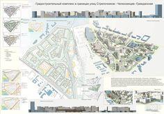 Студенческий проект, градостроительный комплекс: архитектура, жилье, минимализм…