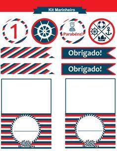 ᐅ kit festa marinheiro para imprimir (gratuito)
