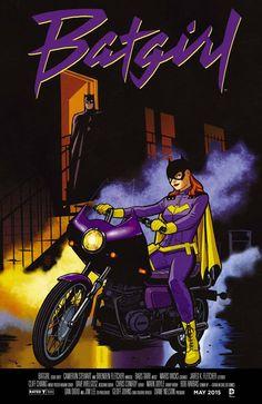 Batgirl #40 Movie Poster Variant Edition