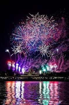 Disney does it best. Seeing is believing. I would love Disney fireworks at my wedding reception