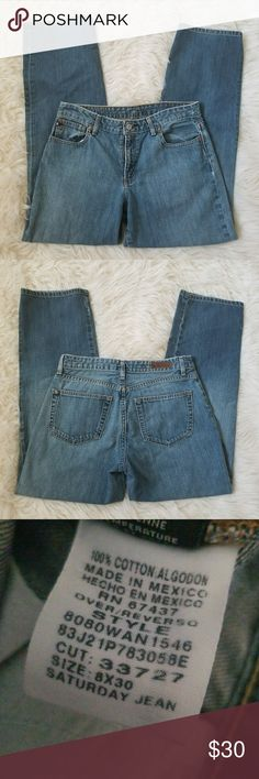 """90s Vintage RL Saturday Jeans Super cute and slightly disstresses ralph lauren saturday jeans. Medium wash and no stretch. Waist 30"""" Inseam 30"""" Hips 41"""" Rise 9 1/2""""  Brand: Ralph Lauren Size: 8 Condition: gently worn but in amazing condition.  #ralphlauren #polo #rl #saturdayjeans #boyfriendjeans #mediumwash #highrise #ralphlaurenpolo #spring #springfashion #springstyle #fashion #style #cheap #styleforcheap #xoxopf #bundleandsave Ralph Lauren Jeans Boyfriend"""