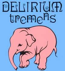 """Mr Dauwe Jan took us to have a look around the place where the most famous Belgium beer is made. On of March What is Pink Elephant?↓↓↓ Yes, it's a label of the beer, Delirium Tremens. It was nominated """"the best beer… Delirium Tremens Beer, Pink Elephants On Parade, Elefante Tattoo, Beer Poster, Beer Art, Belgian Beer, Wine And Liquor, Beer Tasting, Best Beer"""