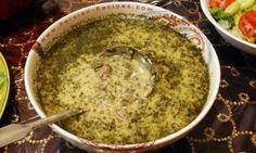 Aash e Mast (Persian soup with yogurt)