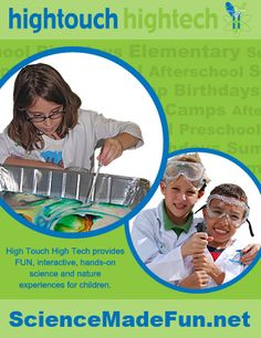 Through discovery style learning and inquiry based dialogue, children are engaged in exciting programs that encourage them to explore the many wonders of science.
