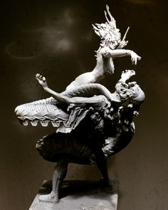 Medusa, Lion Sculpture, Statue, Art, Jellyfish, Art Background, Kunst, Performing Arts, Sculptures
