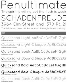 Quicksand— Sans Serif —Contemporary, Dashed, Dots, Geometric, Oblique, Paragraph, Rounded, Sans, Geometric