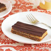 Weight Watchers: Caramel slice. 18 serves, 4pts each.