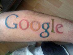 #Google Logo #Tattoo