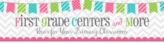 First Grade Centers and More: Word Work Center that is quick and easy to set up - cute blog too!