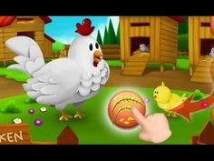 Kids Learn Feeding Animals | Feeding Time Farm Animals | Food Animals fo...