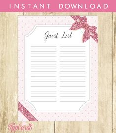 photo regarding Free Printable Baby Shower Guest Sign in Sheet referred to as 9 Least complicated boy or girl shower illustrations or photos in just 2017 Boy or girl shower present checklist