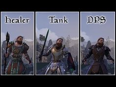 Know Your Role - Understanding the Holy Trinity in The Elder Scrolls Online tank, DPS, and Healer - YouTube