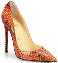 Louboutin So Kate Python