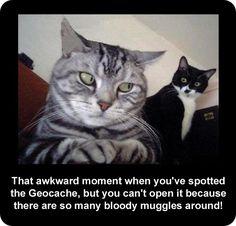Geocaching humor!