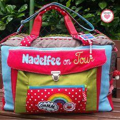 """I added """"Nähpänz Reisetasche FRELSI von Fräulein Farbenfroh"""" to an #inlinkz linkup!http://www.naehpaenz.de/2016/07/reisetasche-gesucht-hier-kommt-das.html"""