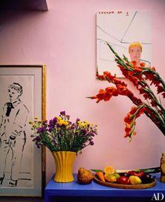 David Hockney's west coast home