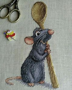 Gallery.ru / Фото #48 - Ищу,looking for ,Cerco,cherche,Buscando, Только в графике!! - Ka Cross Stitch Kitchen, Cross Stitch Books, Cute Cross Stitch, Cross Stitch Animals, Cross Stitch Designs, Cross Stitch Patterns, Cross Stitching, Cross Stitch Embroidery, Embroidery Patterns