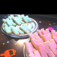 Cookies for a gender reveal party for my bestie!