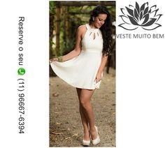 📌 Vestido de Crepe Godê R$ 90,00 [Reserve agora pelo whatsapp (11)96667-6394]  http://www.modaemroupafeminina.com.br/2017/05/vestido-de-crepe-gode-r-9000-reserve.html