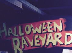 Halloween Raveyard at The Vaults in Waterloo is a must for Halloween party goers. Amazing.