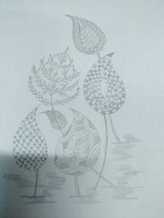 Hand Embroidery Patterns Free, Hand Embroidery Projects, Embroidery Saree, Hand Embroidery Stitches, Textile Design, Floral Design, Jute Silk Saree, Modern Henna, Bengali Saree