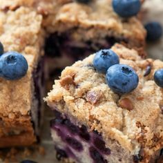 A Scrumptious blueberry crumble cake recipe. This is a delicious dessert the whole family will love.. Blueberry Crumble Cake Recipe from Grandmothers Kitchen.