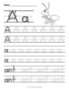 Free Printable Tracing Letter S Worksheet | Tracing Worksheets ...
