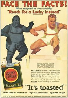 1931 - Face the Facts - Lucky Strike Cigarettes