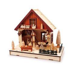 Weihnachtliche Lampe Spielzeugmanufaktur