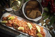 Graavilohen seurana maistuu saaristolaisleipä. Alsace, Tacos, Mexican, Beef, Ethnic Recipes, Food, Meat, Essen, Meals
